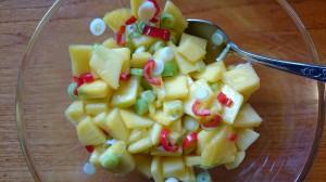Spicy mangosalat